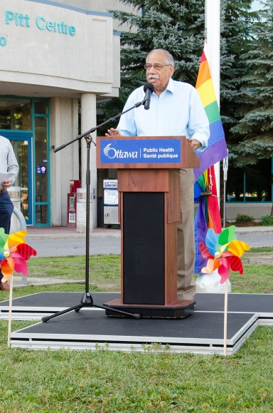 Pride Week Flag Raising with OPH 2016