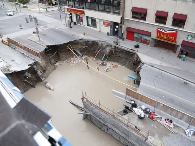 Rideau Street Sinkhole Update – Shad Qadri
