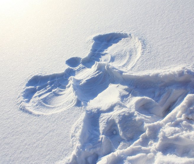 Image result for snow angels