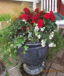 Planter front door