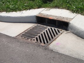 Curb Inlet Catch Basin