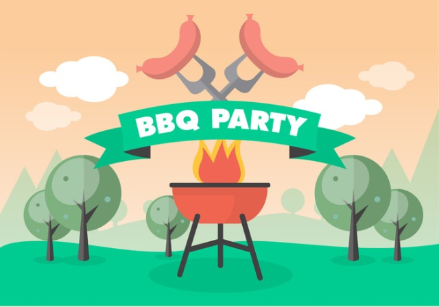 free-bbq-picnic-vector-background