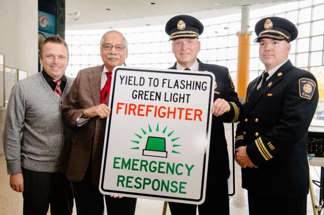 Green Light, Volunteers, fire, firefighters, rural, announcement, City Hall