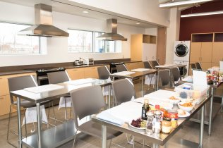 Albion-Heatherington Recreation Centre kitchen opening event