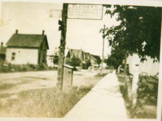 First street light